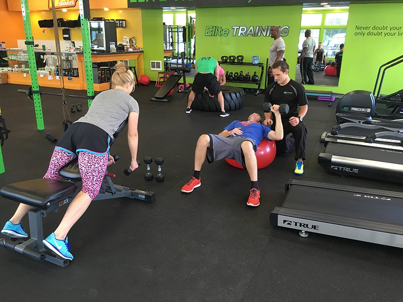 Couples Fitness Training