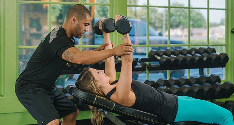 get most of personal training sessions
